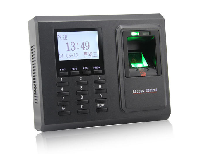F2  Fingerprint TCP/IP Fingerprint Access Control Door Access Control With Time Attendance Reader Optional Card Reader door security fingerprint access control reader biometric fingerprint time attendance and access controller
