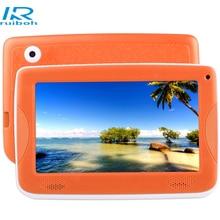7.0 дюймов Дети Tablet PC Android 4.4 Астар Дети Образование Tablet PC, Allwinner A33 Quad Core, с Силиконовый Чехол (Orange)