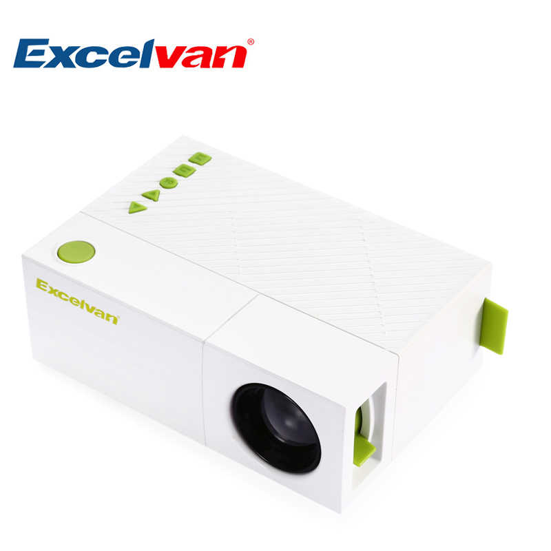 cde96152083fb7 Excelvan YG310 Portable LCD Projector HD 800Lumen 320 x 240 P 1080P AV USB  HDMI Video