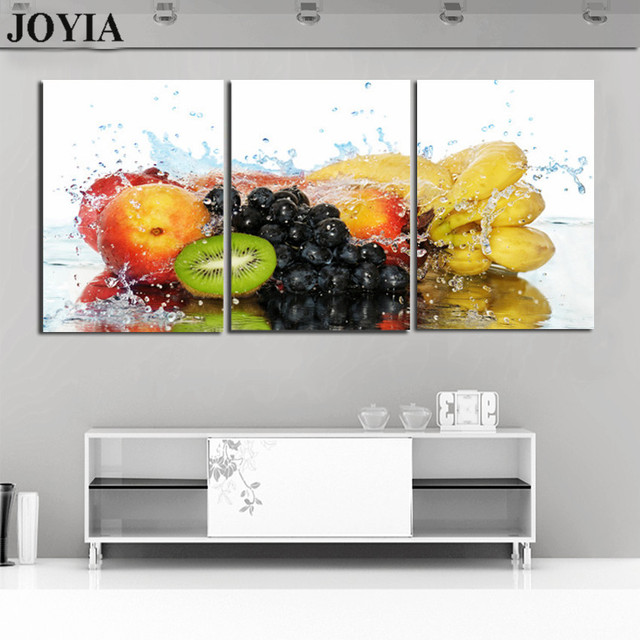 Fruit Art Pictures Variety of Fruits Canvas Painting For Dinning ...
