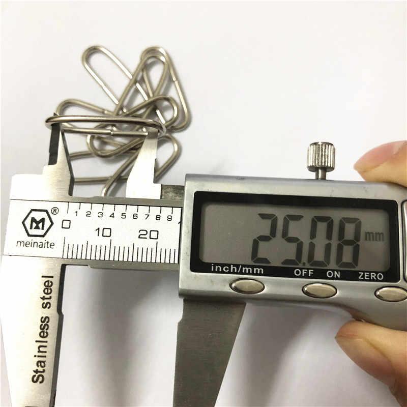 20 قطعة إبزيم بحلقة بيضاوية 15 مللي متر/20 مللي متر/25mm3 2 مللي متر/35 مللي متر/38 مللي متر/50 مللي متر 0.7 ''/0.8''/1''inch غير ملحومة D حزام تنجيد حقيبة ووتش أبازيم