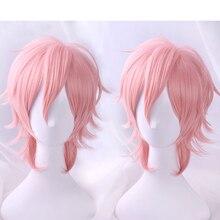 2018 Аниме Косплей Yarichin Bitch Bu Club Ayato Yuri розовый парик косплей Хэллоуин ролевые игры