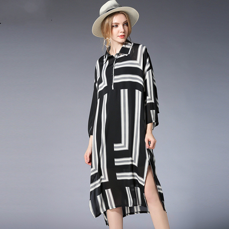 2018New Spring Summer Maternity Dress With Sling 2 Pieces Dress Fashion Chiffon Striped Pregnancy Dress Casual Maternity Dresses 2018 new spring maternity dress europe