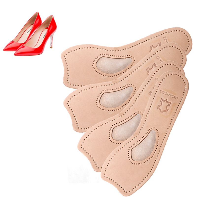 Women High Heels leather 3D Shoe Insoles Cushions Pads Sport Arch Support Orthotic Feet Care Massage FM1153 ...