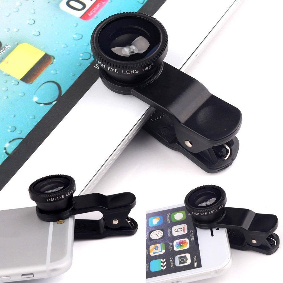 16 New 10in1 Phone Camera Lens Kit 8x Telephoto Lens + Wide Angle + Macro Lens +Fish Eye +Selfie Stick Monopod + Mini Tripod 37
