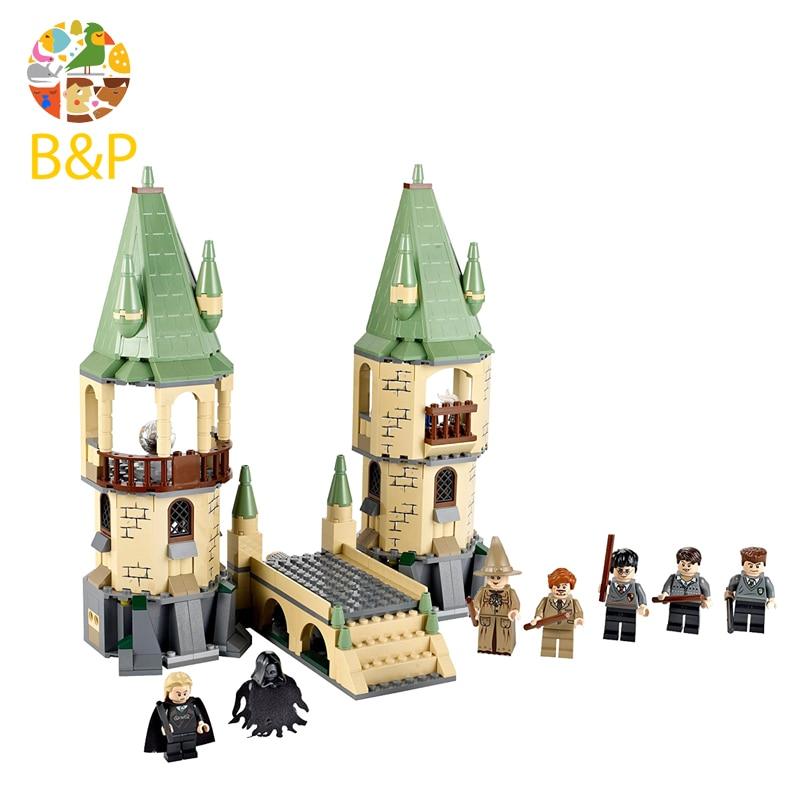 16028 Kid Toy Compatible Legoing 4867 Hogwarts Set 4842 Building Blocks Bricks Harri potter Christmas birthday Gift