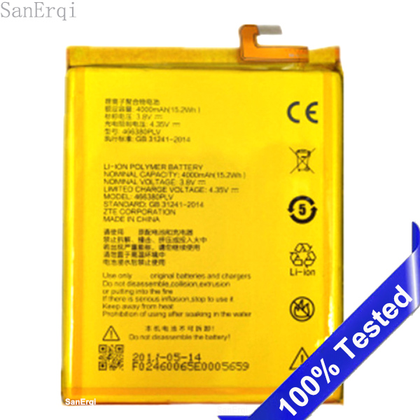 466380PVL Battery For ZTE BLADE A610 A610C A610T BA610T BA610C High Quality 4000mAh Replacement