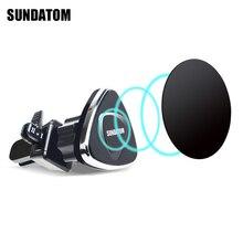 Универсальный магнитный автомобильный Air Vent Автомобильный подставка, держатель телефона вращающийся сильный магнит Pad стенд для iPhone 7 телефон Аксессуары