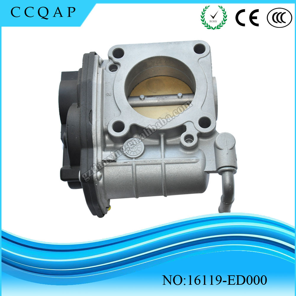 High Quality 16119-ED000 Throttle Body Assy 16119ED000 For Nissan Micra K12 Tiida C11 HR16DE 16119 ED000 джон дэвисон рокфеллер как я нажил 500 000 000 мемуары миллиардера