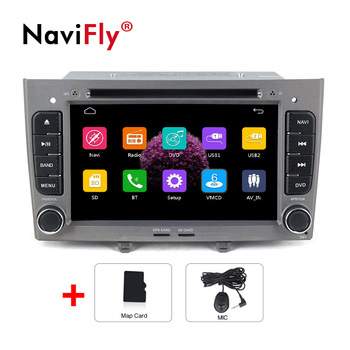 European warehouse Car Multimedia player For Peugeot 408 for Peugeot 308 308SW Audio Radio Stereo Head Unit