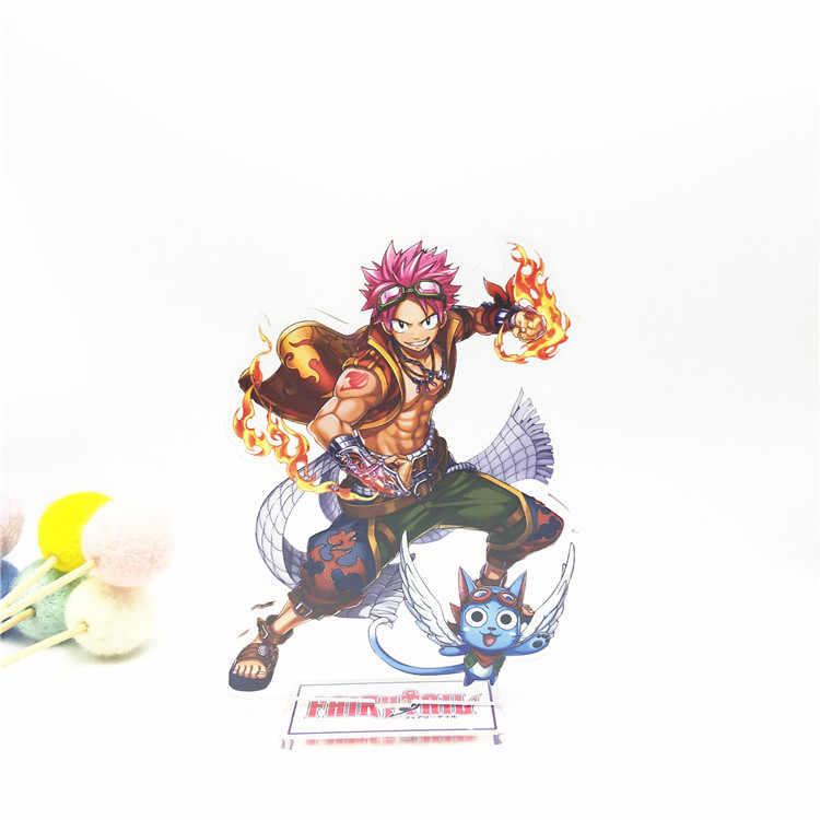 Anime fée queue acrylique support modèle jouets deux faces Action Figure pendentif jouet cadeau