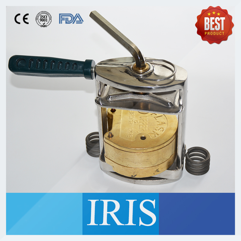 New Style Brass Upper Lower Denture Flask and Molding Dental Press Stainless Steel Upper Lower Denture Flask Press