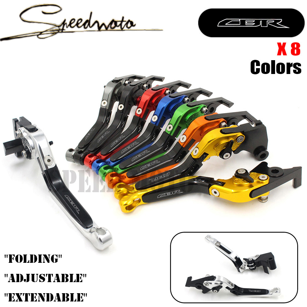 ФОТО 8 Colors CNC Motorcycle Brakes Clutch Levers For HONDA CBR 600F 600 F 2011 2012 2013 Accessories Free shipping