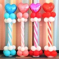 Colonne de décoration de mariage Route Ballon Paquet fête d'anniversaire décorations enfants ballon décoration de Partie de bachelorette bébé douche