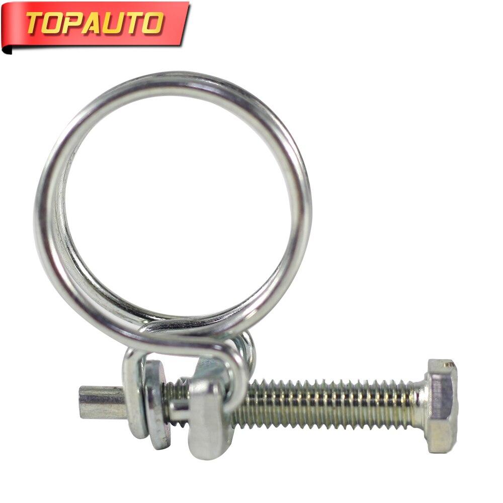 TopAuto 22mm-26mm Pince Ajustable Pour Air-décharge Tuyau De Sortie Pour 2kw Webasto Air Diesel Parking chauffe-Pour Auto Voitures Camion