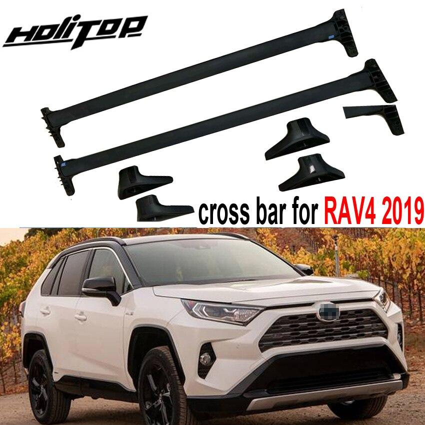 Nueva llegada Barra de techo horizontal barra transversal Barra de techo para Toyota RAV4 2019 2020, aleación de aluminio, estilo original de EE. UU. Modelo a escala de 5 uds material de construcción techos de láminas de PVC en tamaño 210x300mm para diseño de la arquitectura