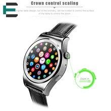 Smart armbanduhr MTK2502C pulsmesser Magie Knopf Smartwatch für iphone Xiaomi Lenovo Meizu VS iwo W51 DM09 Stahl strap