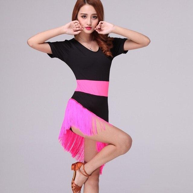 Verano estilo nuevo vestido de la danza traje Latino salsa cha rumba ...