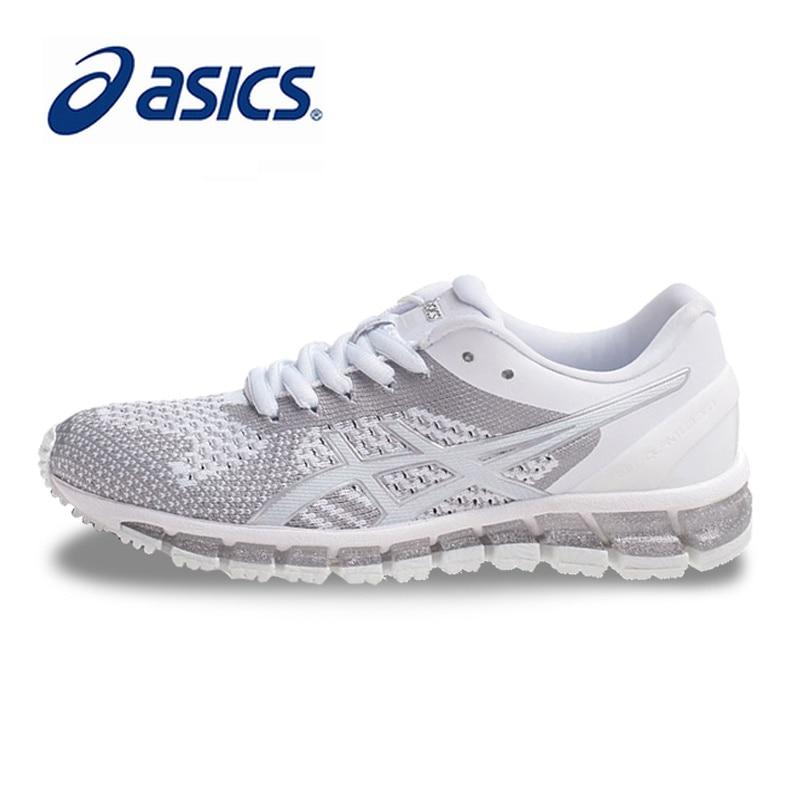 c32e1143a8 Comprar Originais ASICS GEL QUANTUM 360 Mulheres MALHA Estabilidade Running Shoes  Calçados Esportivos Brancos Sapatos de Tênis Ao Ar Livre Lace Up ...