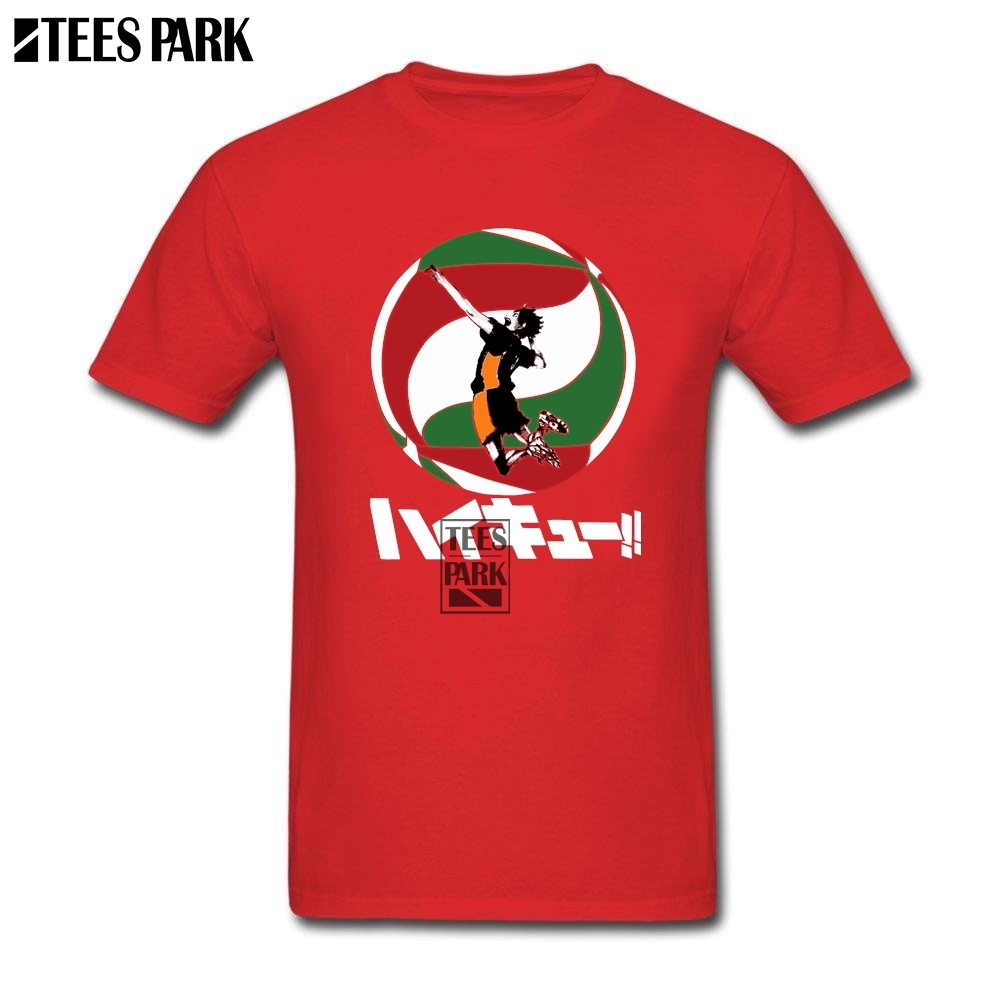 T Shirts for Male Anime Haikyuu T Shirt for Men Youth Natural Cotton Short Sleeve Tshirs Lowest Price Male Personalised Design