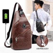 male anti-theft bagpack men sling one shoulder bag boy waterproof travel small chest slim mini crossbody