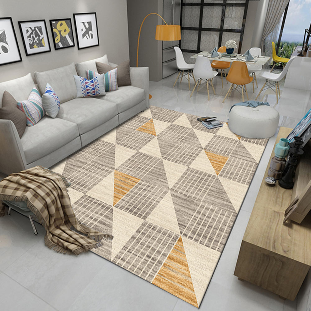 US $16.23 42% OFF|Vintage Classic Large Big Area Rugs Design Nordic Gree  Sofa Blanket Geometric Carpet For Living Room Bedroom Rug-in Carpet from  Home ...