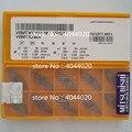 VBMT160404-MV VP15TF VBMT331MV VP15TF новые оригинальные вставки из карбида MITSUBISHI токарные вставки 10 шт.
