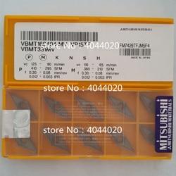 VBMT160404-MV VP15TF VBMT331MV VP15TF nowa oryginalna MITSUBISHI węglika wkładki toczenie wkładki narzędzia do tokarki 10 sztuk