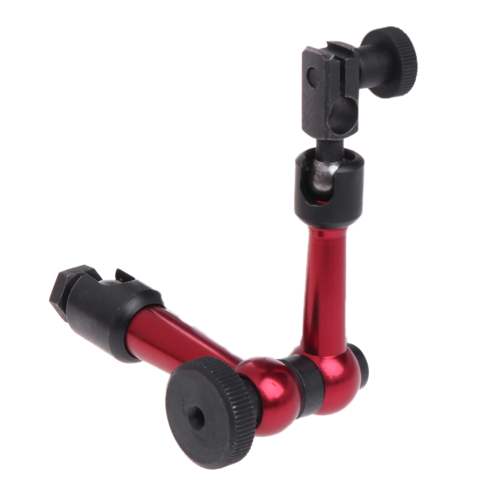 Magnetic arm M5 Universal Flexible Magnetic Metal Base Holder Stand For Dial Indicator New