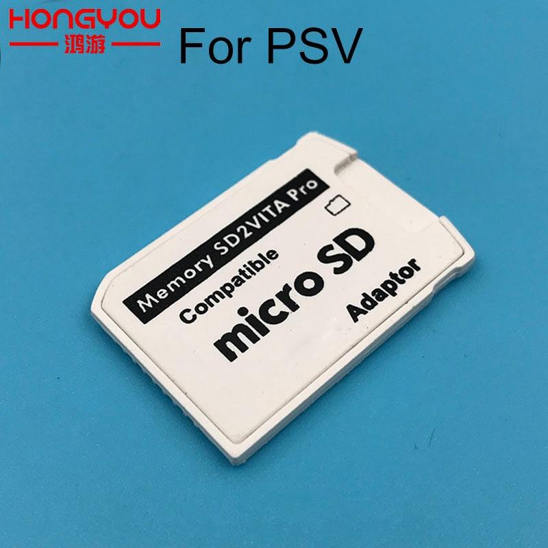 Version 5.0 SD2VITA For PS Vita Memory TF Card for PSVita Game Card1000/2000 PSV Adapter 3.60 System SD Micro SD card