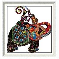 全国象刺繍クロスセット中国カウントクロスステッチパターン家の装飾針仕事dmcクロスステッチファブリッ