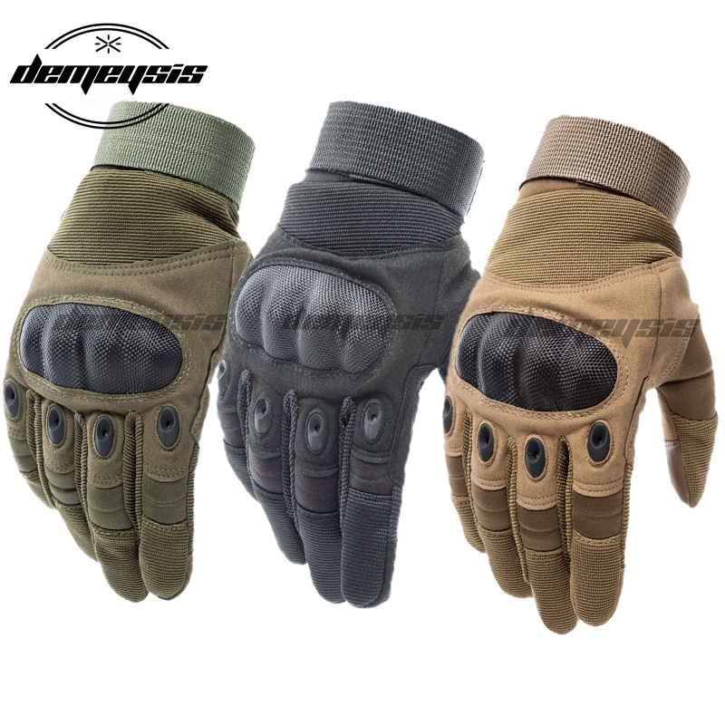 Touch Screen Tactical Gloves Paintball Airsoft Shooting Combat Glove Anti-Skid Army Military Hard Knuckle Full Finger Gloves