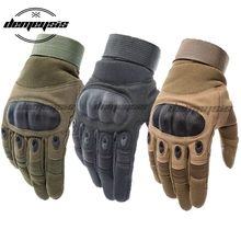 Touch Screen Tactical Gloves Paintball Airsoft Shooting Combat Glove Anti-Skid Army Military Hard Knuckle Full Finger Gloves цены