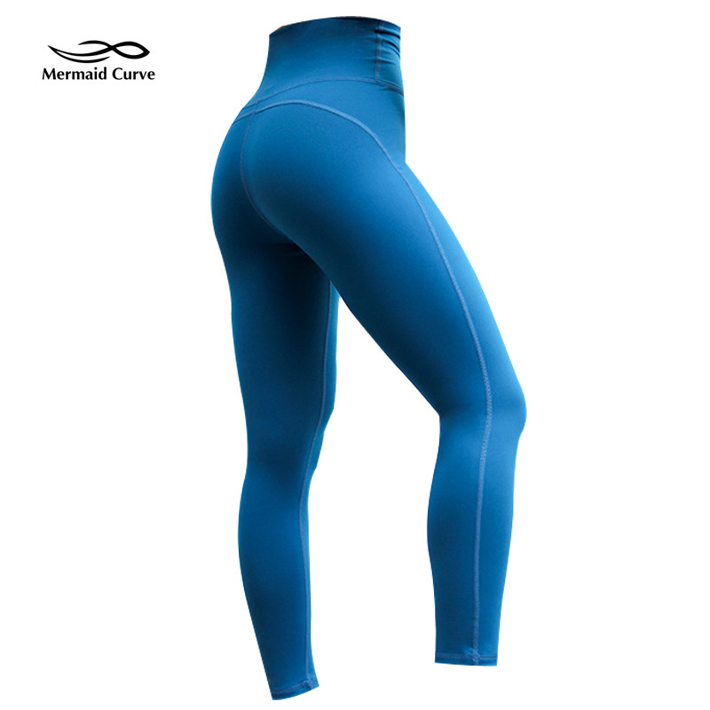 85f1834958 High Waist Sportswear Woman Gym Yoga Pants Sport Leggings Patchwork Leggins  Women Fitness Sports Female Tummy
