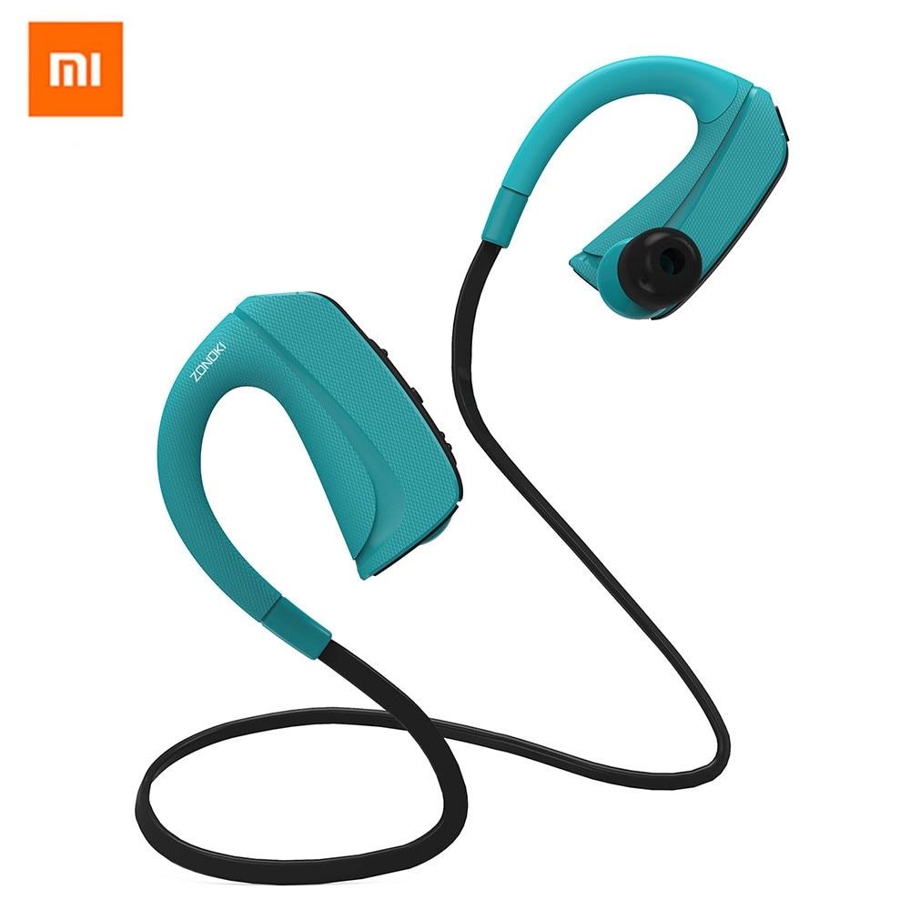 bilder für Bluetooth Kopfhörer, Original xiaomi Zonoki Drahtlose 4,1 Magnetische Ohrhörer Stereo-ohrhörer, Sichere Passform für Sport Für iphone 7