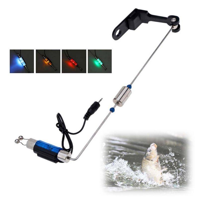 Rybářské Alarm Železo Rybářské kousnutí závěs Swinger LED osvětlené indikátor Rybářské potřeby nářadí