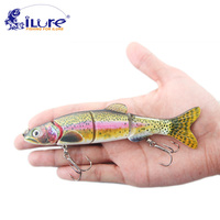 ILure Fishing Wobbler 5 Segments 45g 16cm Swimbait Crankbait Fishing Bait Artificial Para Pesca Bait Peche