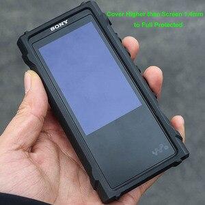 Image 4 - Anti Skid Anti bussare Antiurto Armatura di Protezione Completa Della Pelle Della Copertura di Caso Per Sony Walkman NW ZX300 ZX300A NW ZX300