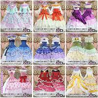 Love Live Kousaka Minami Tojo Maki Nico Eli Action Figure All Members Hallowmas Uniform Cosplay Anime Costume Palace Dress