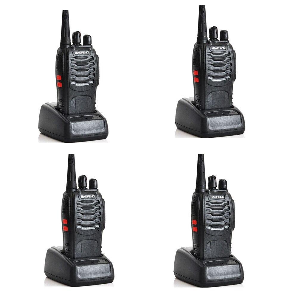 4 piezas BAOFENG BF 888S Walkie talkie radio UHF de dos vías $TERM impacto baofeng 888 UHF 400 470 MHz 16CH portátil transceptor práctico Talky bf888s HT-in Walkie-talkie from Teléfonos celulares y telecomunicaciones on AliExpress - 11.11_Double 11_Singles' Day 1