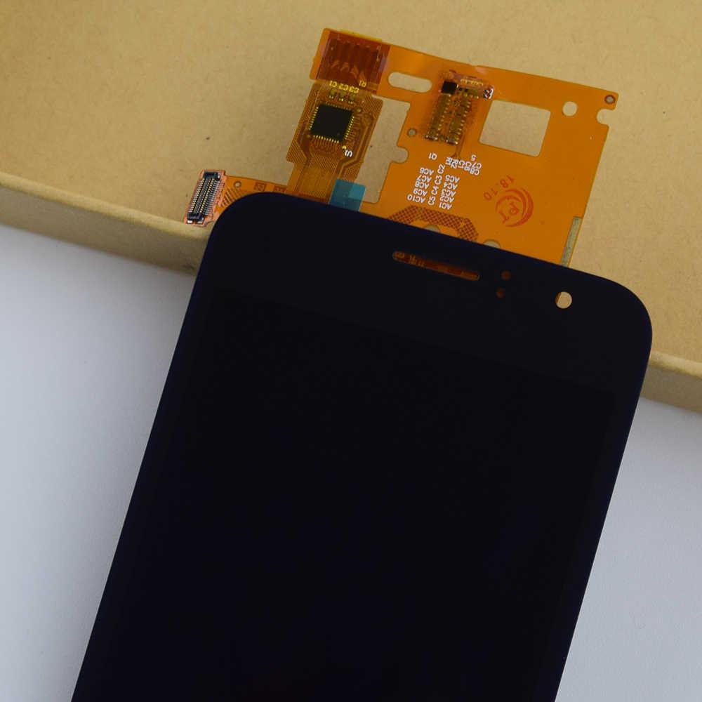 """4.5 """"لسامسونج غالاكسي J1 2016 J120 LCD SM J120F J120M J120H J120G محول الأرقام بشاشة تعمل بلمس الاستشعار + جهاز مراقبة بشاشة إل سي دي الجمعية"""