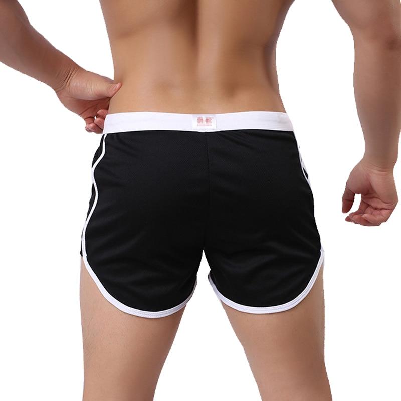 Shorts Straps Trunks G-Pocket Black Swim Quick-Dry Summer Fashion Casual Male Man Household