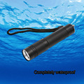 Mini  1000LM LED Flashlights Torches 3 Modes Powrful  Lantern Portable Light Penlight 18650 Underwater