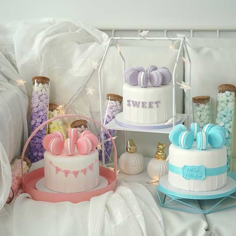 Simulation Cake Window Display Desserts Wedding Fake Cake Macaron Cake Aliexpress