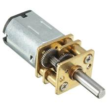 DC 12V 100 Rpm Mini Metal Gear Motor dengan Gear Shift Model: N20 3 Mm Diameter Poros(China)