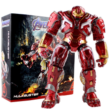 27cm Avengers Hulkbuster Ironman Hulk Super Hero PVC Action Figure Model Toys