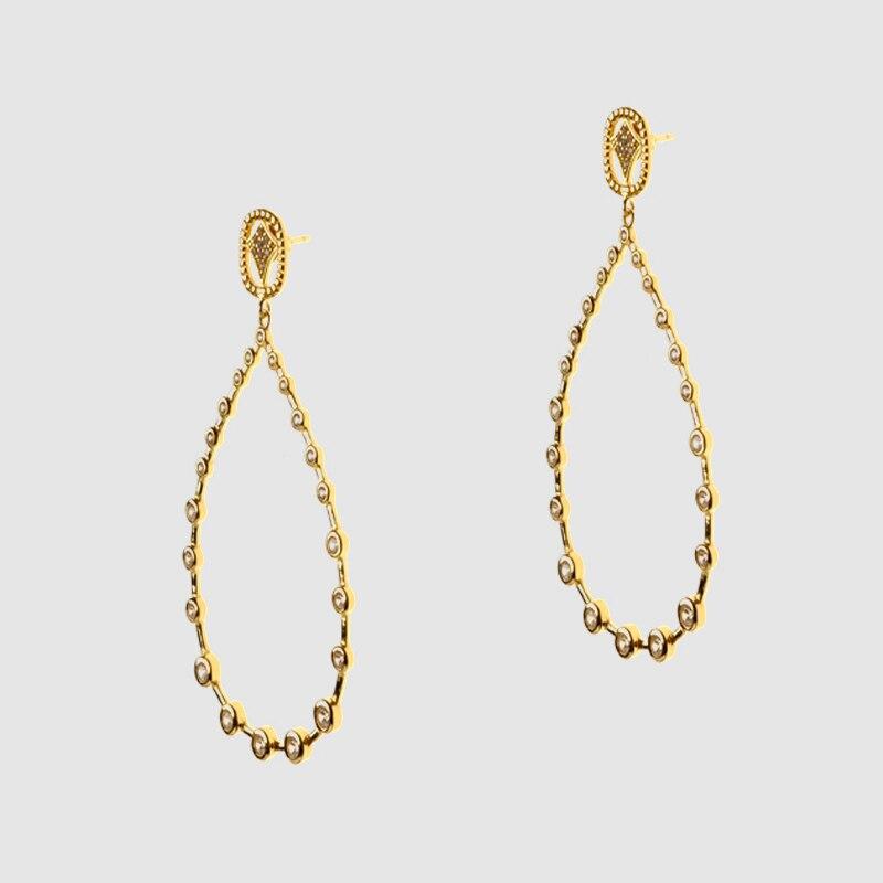 Amorita boutique silver925 dame cadeau à la mode avec des boucles d'oreilles sz pour les femmes