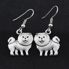 Earring Dog-Charms Pendientes Fashion Jewelry Vintage Women's for Pet-Gift Brincos Boho