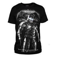 2016 Movie Batman v Superman: Dawn of Justice T shirts Cotton Mens Casual Printing Pattern O neck Short Sleeve Tee Shirts Tops
