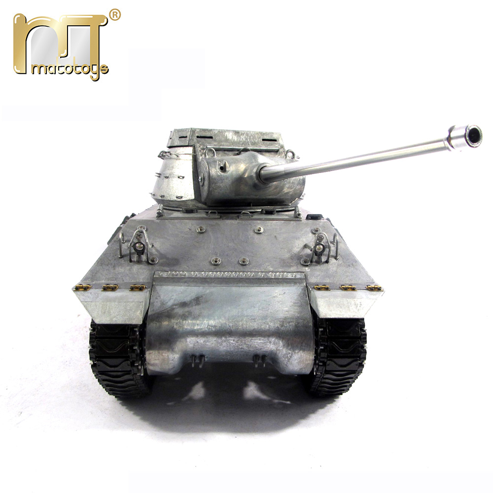 MATO 100% Metal Tank Remote Control M36 Destroyer 1:16 RC Tank Ready To Run Infrared Recoil Model RC Tanks mato metal parts 1 16 m36b1 tank destroyer rc tank turret with servo